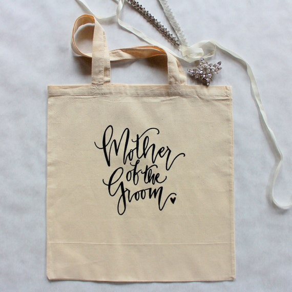 Mother of the Groom Wedding Tote Mom Gift Groom Family Gift Bag USA