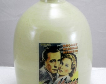 Casablanca jug moonshine whiskey handmade