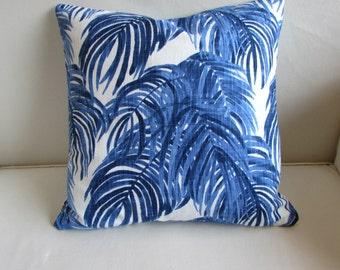 VILLA WEDGEWOOD decorative Pillow cover blue 18x18 20x20 22x22 24x24 26x26 12x20 13x26