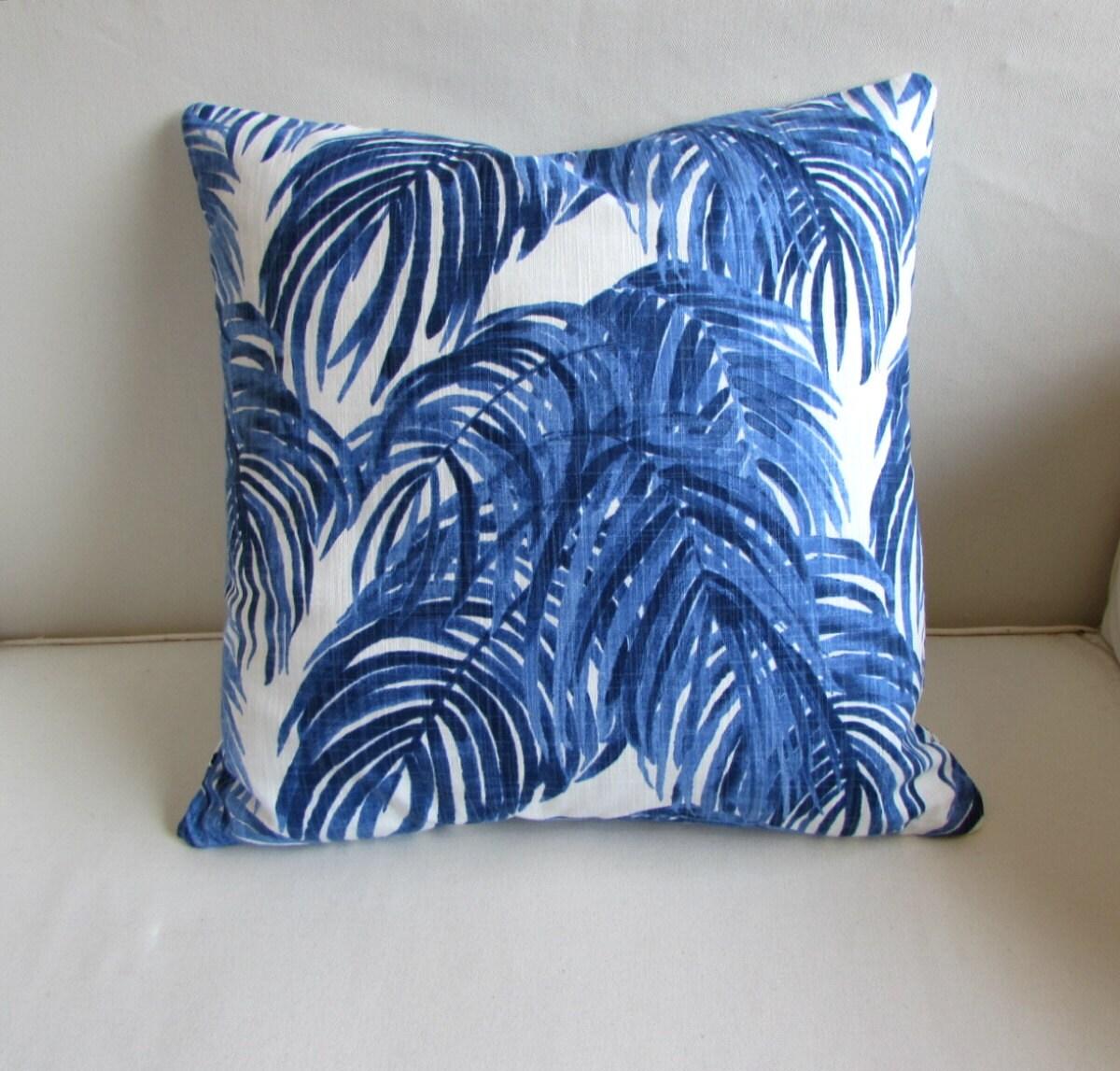 VILLA WEDGEWOOD decorative Pillow cover blue 18x18 20x20 22x22