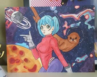 An Otter Space Adventure