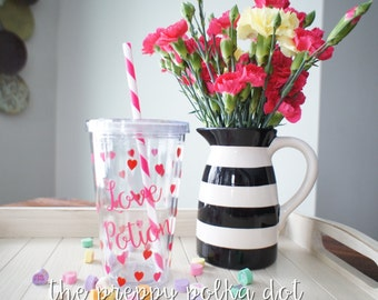 Love Potion Valentine's Day Tumbler Cup