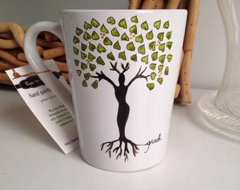 Tree of Life Mug - tall coffee mug