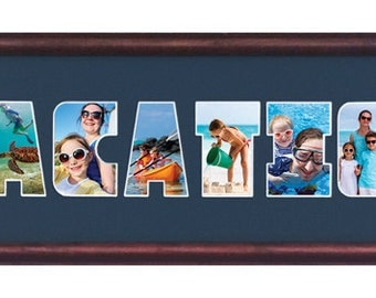 VACATION Custom Photo MAT ONLY 8 x 26