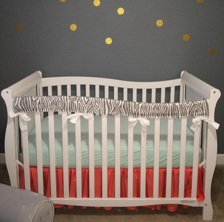 Crib Teething Guard Crib Rail Covers Protectors By