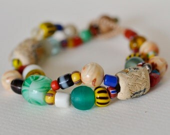Bracelet of Antique Trade Beads