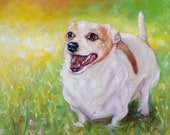 """reserved, BACCUS, oil portrait painting by puci, 10x12"""""""