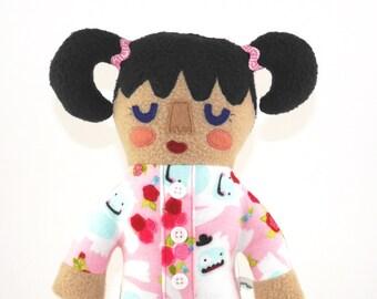 Sam Onesie PJ's Plush Doll