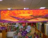 Sunrise Sunset Wall Hanging Kit by Coyote Creek Fabrics