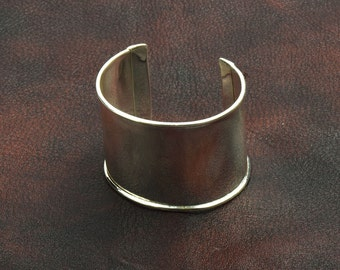 Cuff Bracelet for Embellishment, Channel for adding art or other media , sold by each J855S
