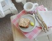 Miniature bread and butter Breakfast board