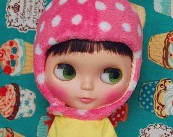 Blythe lovely strawberry hat