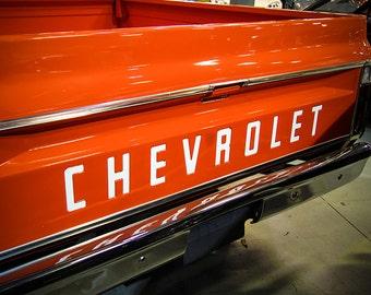 1970 Chevrolet C10 Truck Photography, Automotive, Auto Dealer, Classic, Muscle, Sports Car, Mechanic, Boys Room, Garage, Dealership Art