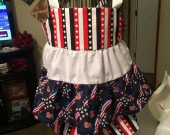 Patriotic short set size 5