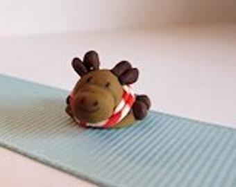 Miniature Dollhouse Moose