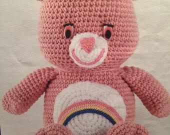 Crocheted Care Bears