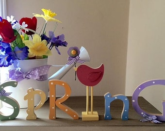 """6"""" - 9"""" NEW Spring letters"""