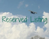 Reserved Listing for DL