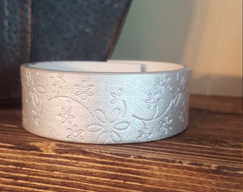 Ready for your CUSTOM DesignUp-Cycled Silver Cuff Bracelet -QUOTE