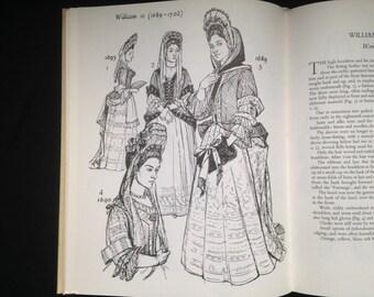 900 Years Of English Costume: From the Eleventh to Twentieth Century, Bradfield, Fashion Book, Costume Book, Costume History