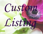 Custom Listing for Corsage and Boutonniere