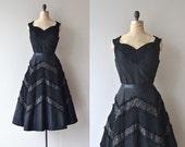 Bella Luna dress | vintage 1950s dress | black 50s party dress