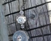 Bullet Bling Crystal Pendant