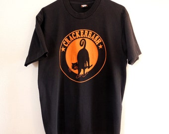 Vintage band T Shirt, Crackerbash, 1990s, Portland Oregon, punk, alternative rock, Large