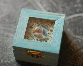 1 Blue Ocean Crab Claw Box