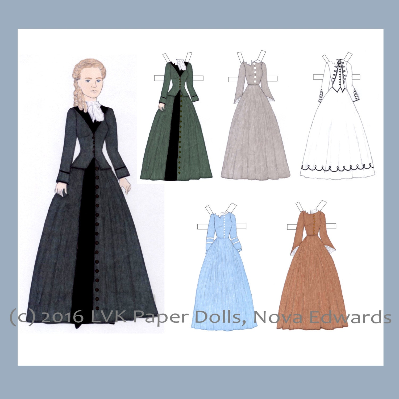 Matilda Joslyn Gage Paper Doll
