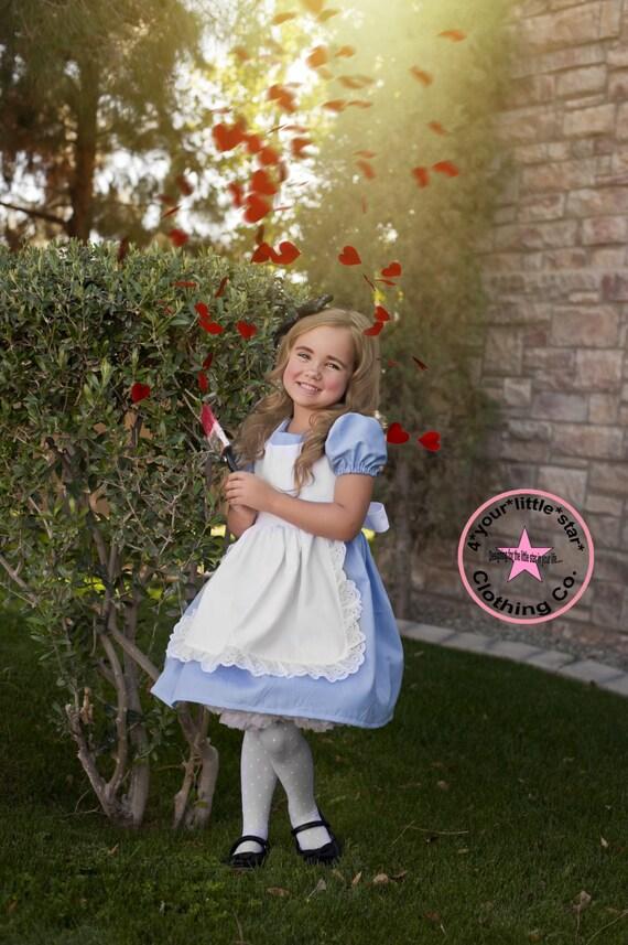 disney inspired alice in wonderland character dress for