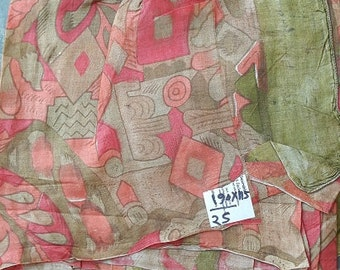second-hand silk sari sections- 25