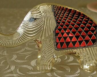 Abraham Palatnik Op Art Lucite Elephant