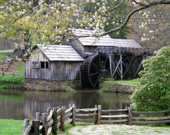 Mabry Mill 5x7 Fine Art Color Photography in Virginia