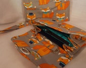 Necessary Clutch Wallet-Fox with Glasses Wallet-Smartphone Wallet-Accordian Style Clutch Wallet-Multi-Purpose Wallet