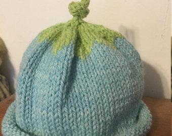 Handknit Toddler Berry Hat