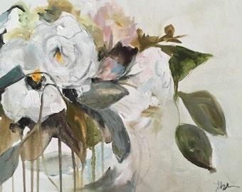 Blush Flower Study III