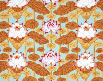 COUPON CODE SALE - End of Bolt - Kaffe Fassett, Lotus Stripe, Pastel, Rowan Westminster Fabrics, 100% Cotton Quilt Fabric, Quilting Fabric