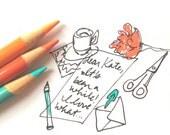 custom handwritten letter for fransiscarodriguez