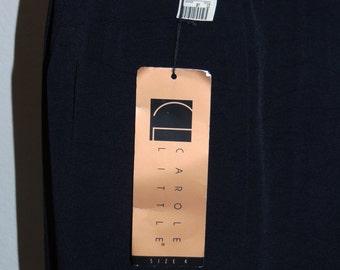 SALE Carole Little Sz 4 Black Maxi Skirt with tags