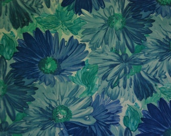 Vintage Large Scale Floral Print