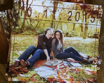 Photo personalized cd sleeve wedding favor ANY COLOR {250}