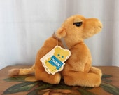 Dakin Camel Plush Stuffed Animal Vintage Retro Toy
