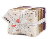 ON SALE The Potting Shed Fat Quarter Fabric Bundle - Moda - Holly Taylor - 40 FQ