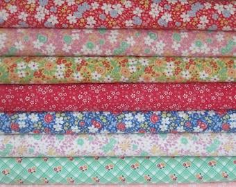 30s Playtime Fabric - Half Yard Bundle - Moda - 10 HY