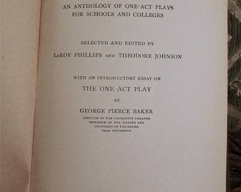 Types of Modern Dramatic Composition An Anthology Of One-Act Plays For Schools And Colleges, 1927 Susan Glaspell Zona Gale Rachel Crothers