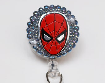 The Amazing Spiderman ID Badge Reel - Retractable ID Badge Holder - Zipperedheart