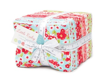 SPRING SALE - Little Ruby - Fat Quarter Bundle (40) - Bonnie and Camille for Moda Fabrics