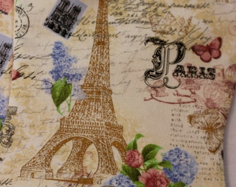Pink Paris Christmas Stocking