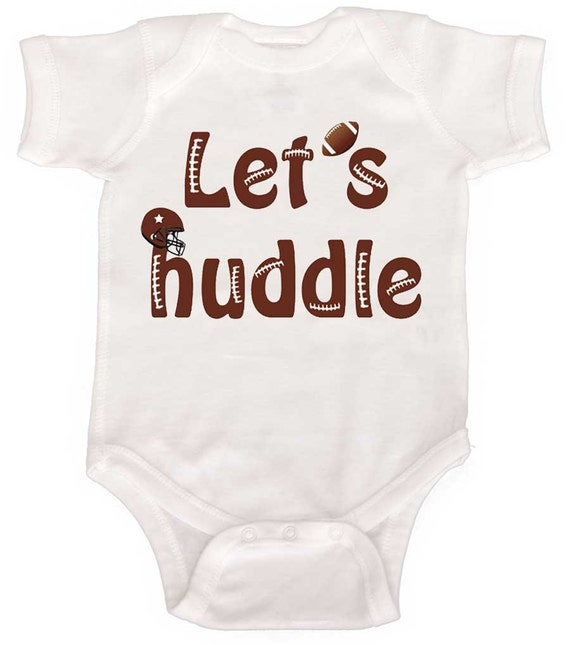 Funny Boy Football Bodysuit  Newborn Bodysuits  Baby Boy Creepers to Funny Toddler T shirts